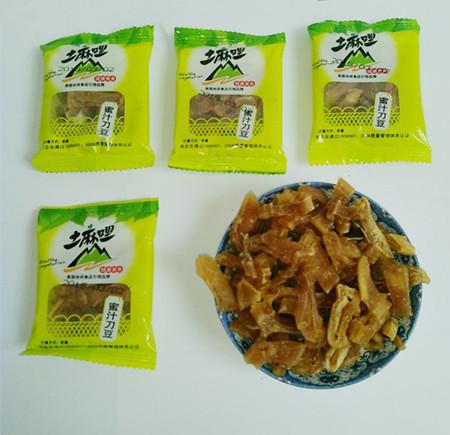 散装独立包   蜜汁刀豆